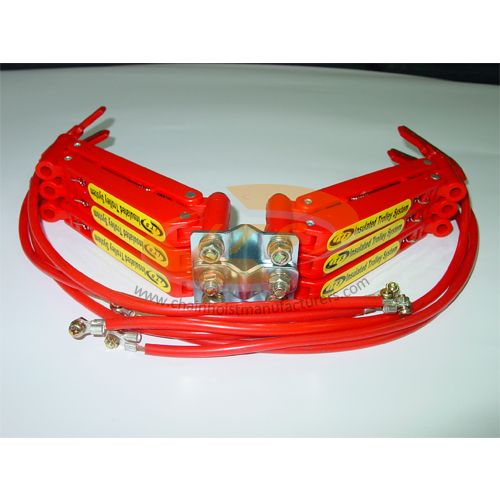 100A 6 Pole Insulated Conductor Current Collector
