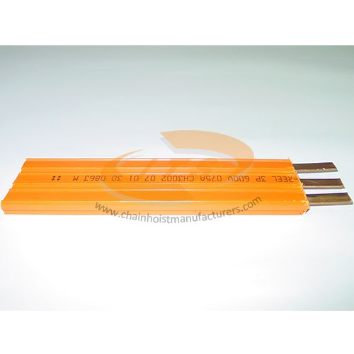 3 Pole Insulated Conductor Rails